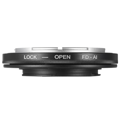 FD-AI Adapter Ring Lens Mount for Canon FD Lens to Fit for Nikon AI F Mount Lenses