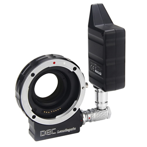 Aputure DEC LensRegain Funkfernbedienung Follow Focus Objektivadapter mit Focal Reducer 0.75 × Fokus Reduzierung für Canon EF-Bajonett-Objektive an MFT-Mount-Kameras