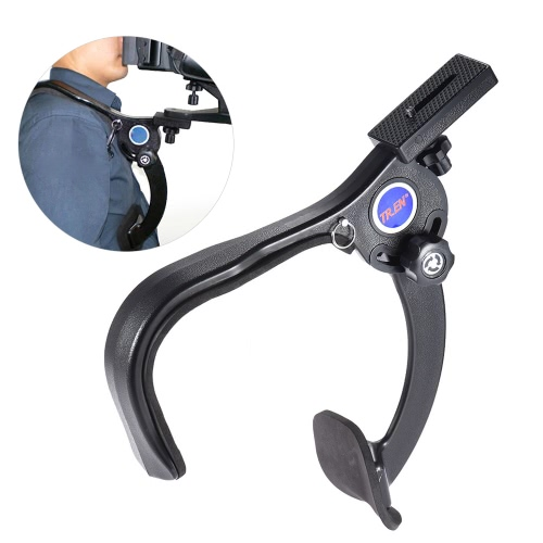 Hands-free Shoulder Mount Shouldering Support Pad Stabilizer for DSLR Camera Camecorder HD DV Video Filming
