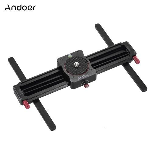 GoProアクションカメラスマートフォンポケットカメラ軽量カメラのための距離をスライディングAndoer GT-MN280 280ミリメートルミニマニュアルトラックスライダーフォローフォーカス&広角撮影カメラビデオスライダー190ミリメートル