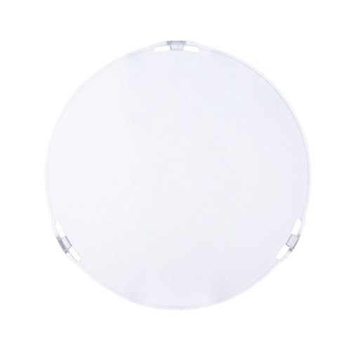 Photo Studio Portable 18.5cm Frosted-Surface Diffuser Plate for Bowens Mount 7