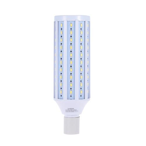 Andoer fotografía del estudio de 5500K 60W 120 Perlas de Bombilla de Luz LED lámpara de luz diurna E27 Socket