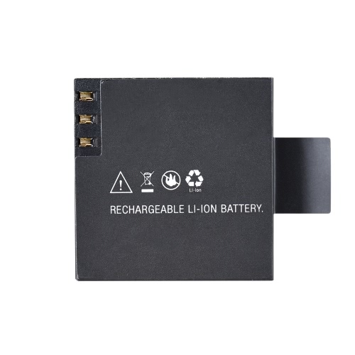 1050mAh rechargeable 3.8Wh Batterie pour Andoer AN7000 Sport Action Camera