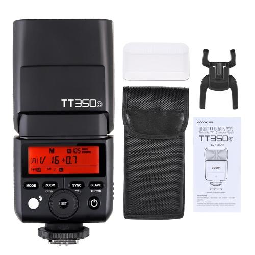 GODOX Thinklite TT350C Mini 2.4G Wireless-TTL Kamera Flash-Master