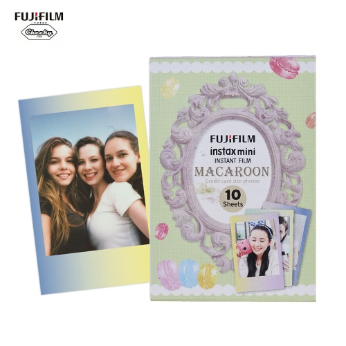 Fujifilm Instax Mini 10 arkuszy MACAROON Stopniowa drukarka kolorowa Film fotograficzny Natychmiastowa druk dla Fujifilm Instax Mini7s / 8/25 / 50s / 70/90 SP-1 / SP-2 Drukarka Smartphone