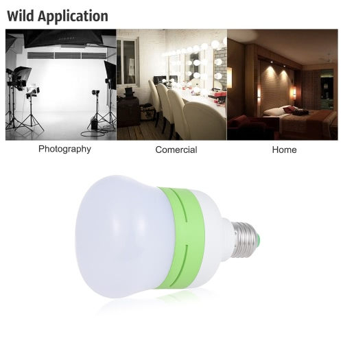 20W Energy Saving E27 LED Bulb Light Soft 5500K Daylight Lamp 45pcs Beads for Pro Photography Studio Video Home Commerical Light
