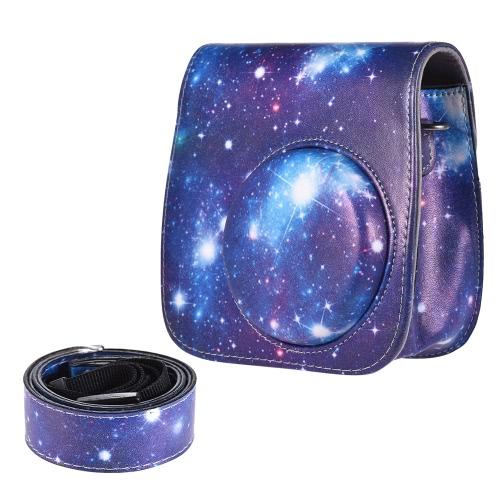Torba na aparat PU Protective Instant Camera Pokrowiec ochronna na pasek Fujifilm Instax Mini 8 + / 8s / 8/9
