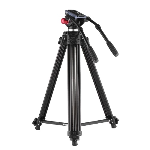 kamera med stativ