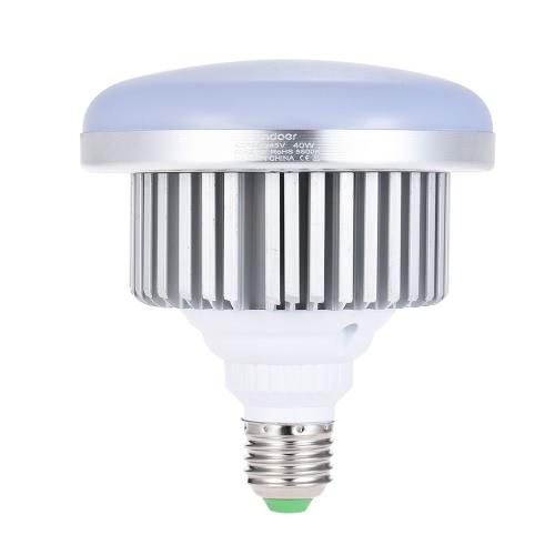 Andoer E27 40W ahorro de energía bombilla LED