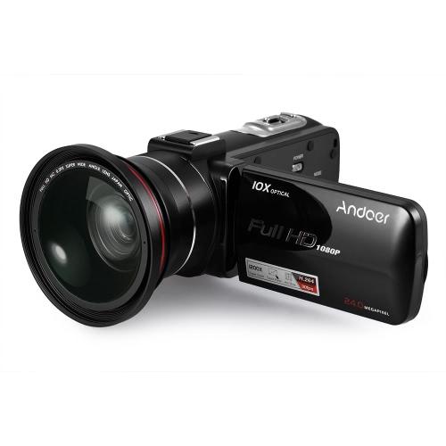 Andoer HDV-Z82 1080P Full HD cámara de vídeo digital videocámara