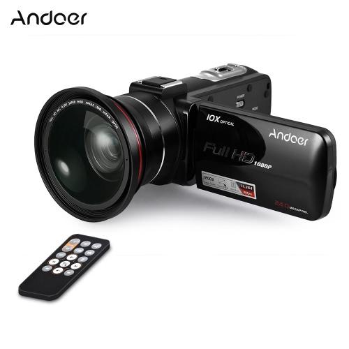 Andoer HDV-Z82 1080P Kamera cyfrowa z cyfrową kamerą wideo Full HD