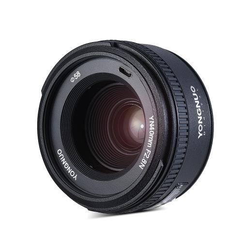 YONGNUO YN40mm F2.8N 1: 2.8 Lente Fixa Fixa Padrão