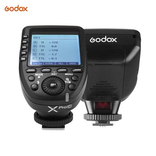 Godox Xpro-C Transmetteur à déclenchement par flash E-TTL II
