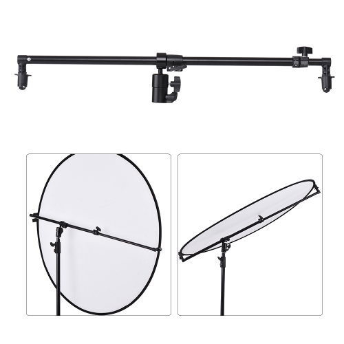 Studio Photo 360 Degree Swivel Head Reflector Holder Arm