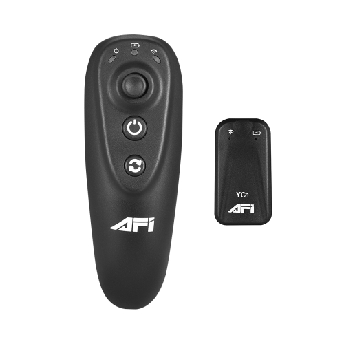 AFI 2.4G Wireless Remote Control (Transmitter + Receiver) Built-in Rechargeable Battery for AFI VS-3SD & VS-3SD PRO Gimbal Stabilizer
