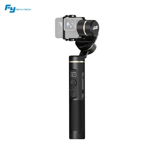FeiyuTech G6 3-Axis Stabilized Splash-Proof Handheld Action Camera Gimbal Stabilizer