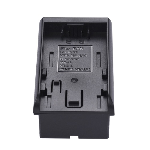 Pana. to NP-F Series Battery Converter Adapter Plate for DU14-21 VBG6-130-260 D16S-28S-D54S VBN130-2