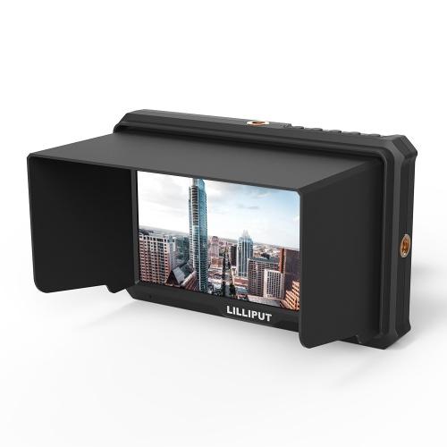 LILLIPUT A5 5 pulgadas de cámara IPS Top-Broadcast Monitor