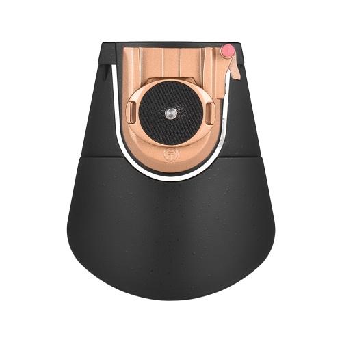 Plaque de dégagement rapide universelle Plaque QR Remplacement de la taille portable Boucle de taille avec vis à filetage 1/4 pour caméra DSLR