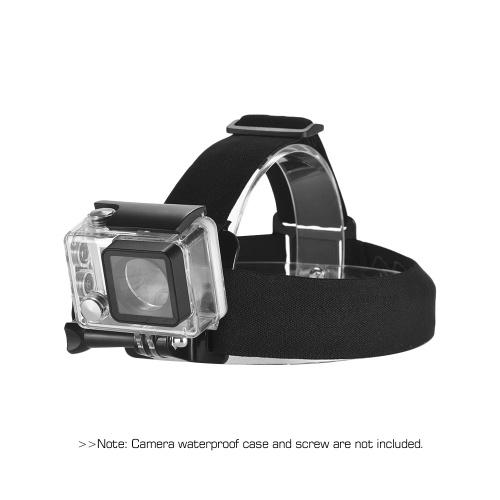 Adjustable Anti-Slip Action Camera Head Strap Headband Mount for GoPro hero 7-6-5-4 SJCAM -YI