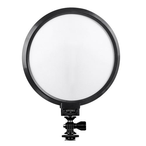 Viltrox VL-300T Professionelle Ultradünne Bi-Color Dimmbare 7-Zoll-LED-Videolicht 3300K-5600K CRI 95+ max. Leistung 18W für Porträt Kinder Makro Stillleben Fotografie