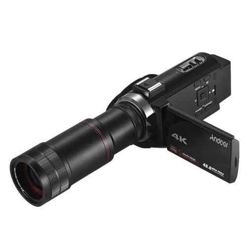 Andoer 4K HD цифровая видеокамера для видеокамеры фото
