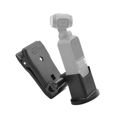 Expansion Base Adapter Holder Bracket Mount & Backpack Bag Clip Clamp Kit