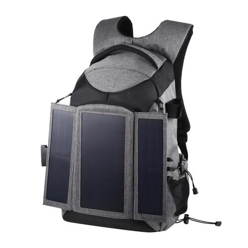 PULUZ Camera Bag 3-Fold 14W sacos de ombro ao ar livre Solar