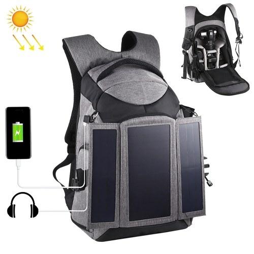 PULUZ Camera Bag 3-Fold 14W Solar Outdoor Shoulder Bags