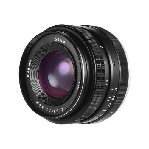 50 mm 1: 2,0 USM große Apertur APS-C spiegelloses Objektiv mit manueller Fokussierung