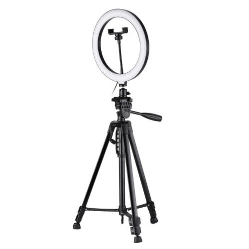 Andoer 10-дюймовый светодиодный свет кольца с подставкой для штатива