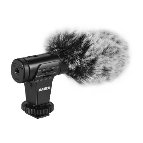 MAMEN MIC-07Pro Microfono video direzionale super cardioide in metallo
