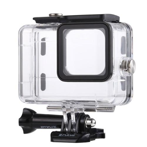 PULUZ Camera Diving Carcaça à prova d'água Subaquática 45 metros de substituição para câmeras GoPro HERO9