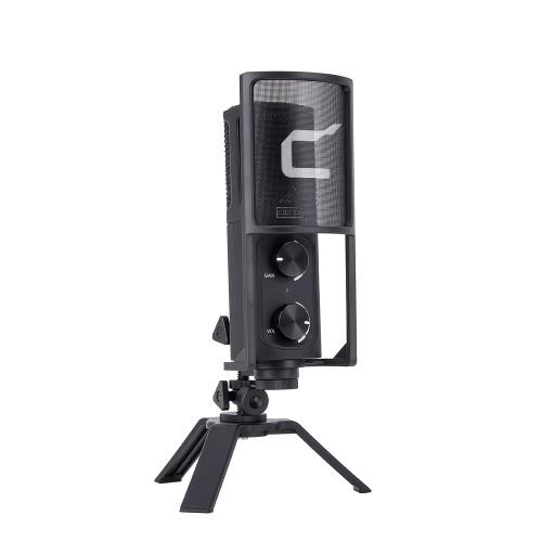 COMICA STM-USB Professional Desktop USB Microphone Cardioid Condenser Mic Type-C Interface Studio-Quality Sound