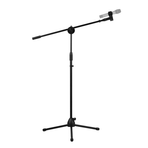 140cm / 4.6ft Adjustable Height Light Stand Durable Aluminum Alloy Floor Tripod Stand Kit