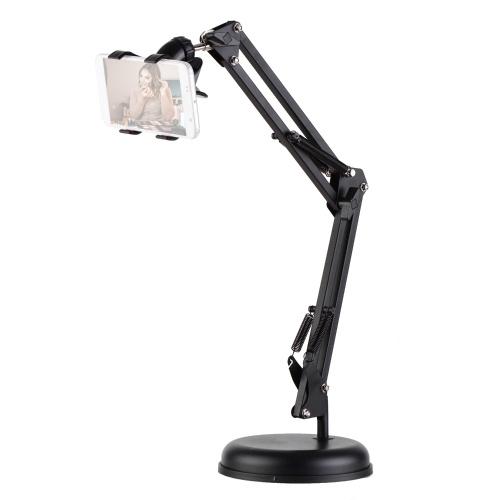 Soporte extensible para teléfono celular Soporte de mesa Soporte perezoso Giratorio 360 °