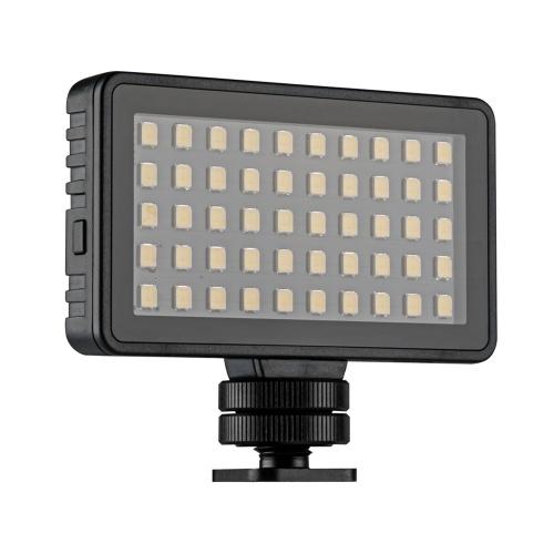 TELESIN Mini LED Video Light Photography Lamp