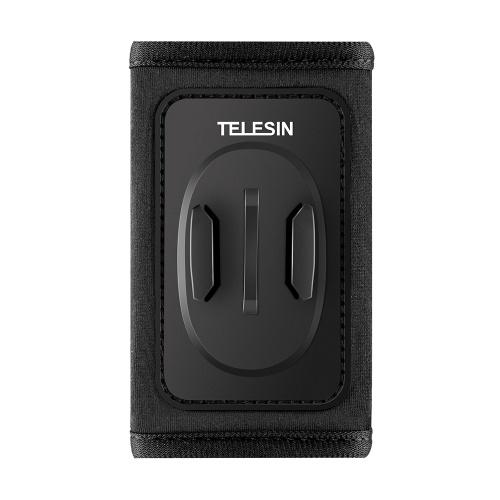 Suporte de clipe de montagem com alça de mochila para câmera TELESIN Action