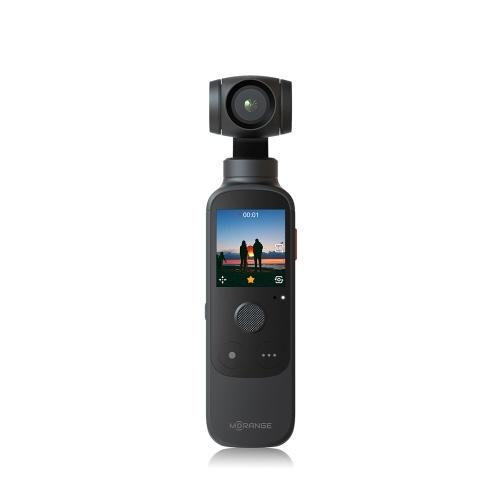 Портативная 3-осевая стабилизированная камера для видеоблога Morange M1 Pro с карданным подвесом