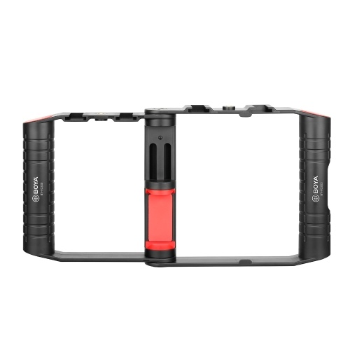 BOYA BY-VG300 Foldable Smartphone Video Rig Handheld Phone Stabilier Smartphone Cage