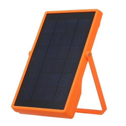Projecteur solaire d'éclairage de secours à LED Projecteur rechargeable à 4 modes