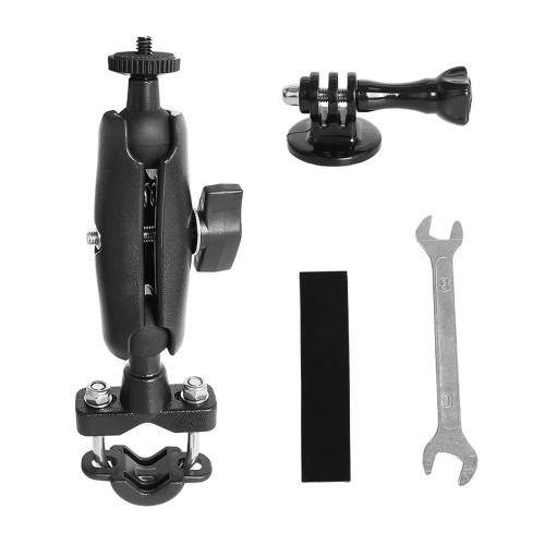 Action Camera Bike Mount Bicycle Handlebar Mounting Bracket 360¡ã Rotation Replacement for GoPro Hero 9/8/7/6/5 Sports Cameras Image