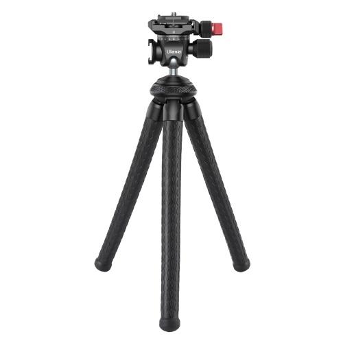 Ulanzi MT-35 Supporto per treppiede polpo panoramico multifunzionale Capacità di carico di 2 kg Supporto per pattino freddo con testa a sfera girevole a 360 ° Design per Vlog Live Streaming Fotografia di viaggio
