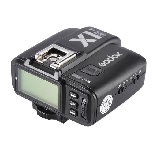 Godox X1T S TTL 1/8000 s HSS リモート トリガー Transmiiter 組み込み Godox 2.4 G ワイヤレス X ソニー a77II/a7RII/a7R/a58/a99/ILCE6000L 用 ILDC カメラ