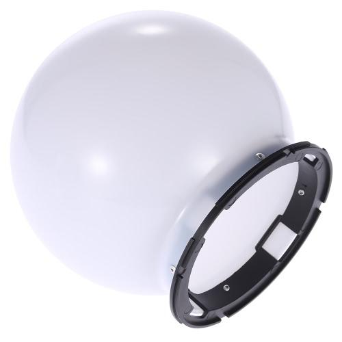 SGA-DB150 Universal Speedlite Flash Bounce Photography Diffuser Soft Ball Dome Softbox for Nikon Canon Yongnuo Godox Sigma Andoer Neewer Vivitar Speedlight