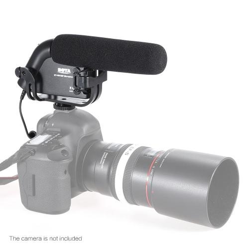 BOYA BY-VM190P Wywiad kierunkowy Mikrofon wideo MIC do aparatów Canon Nikon Sony DSLR Aparat rejestratorów DV