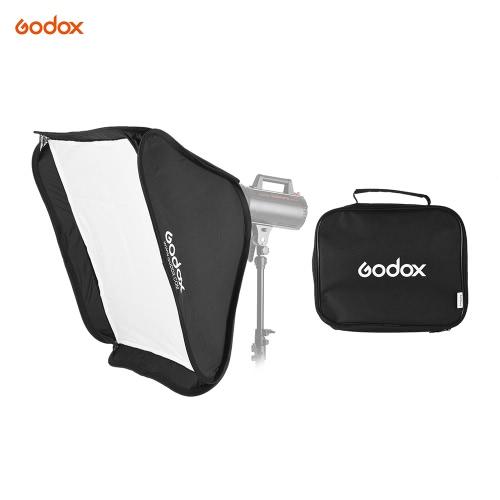 Godox Portable 80 * 80cm prostokątna Softbox Dyfuzor z Bowens Uchwyt na Studio błysku stroboskopu