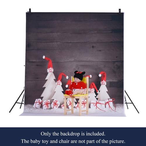 1,5 * 2m / 4,9 * Tło 6.5ft Fotografia tle Computer Printed Narodzenie Wzorzec dla dzieci Kid Dziecko Noworodek Pet zdjęcie portret studio fotografowania