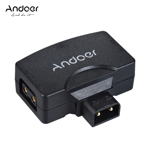 Andoer D-Tap to 5V USB Adapter Connector for V-Mount Camcorder Camera Battery for BMCC for iPhone 7/6/6plus for Samsung Huawei iOS Android Smartphone Monitor