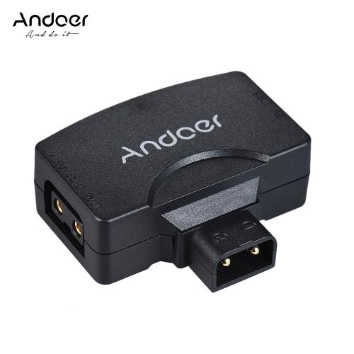 Andoer D-Tap auf 5V USB Adapter Connector für V-Mount Camcorder Kamera Akku für BMCC für iPhone 7/6 / 6plus für Samsung Huawei iOS Android Smartphone Monitor